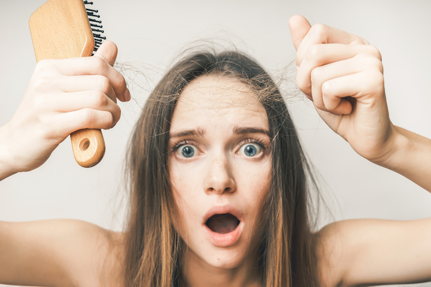 4 Solutions Contre La Perte De Cheveux Liee Au Stress